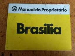 Manual de proprietário Brasília