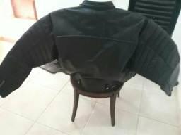 Blusão de couro