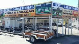Aluguel de Carretinha e Reboque para Carro
