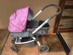 Carrinho de bebê Kiddo Travel Systém Aspen e Bebê Conforto com base para automóvel, usado comprar usado  Dourados