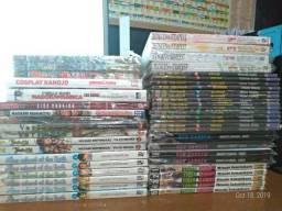 Lote 45 mangas promoção! Naruto, Fairy Tail, Star Wars