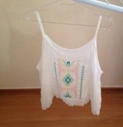 Vendo blusinha tam G short tam GG