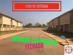 Sobrado Zero de Entrada Condomínio Fechado