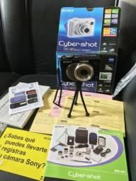 Câmera Digital Sony CyberShot DSC-W1 NF Caixa Manual Brindes