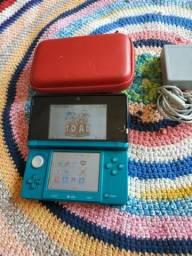 Nintendo 3ds desbloqueado com 2jogos
