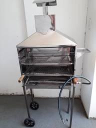Vendo churrasqueira á gás