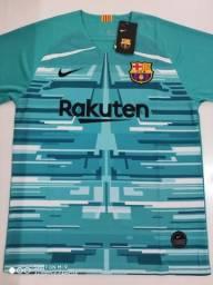 Camisa Barcelona Goleiro Verde 19/20 Nike - G