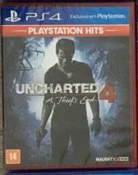 Uncharted 4 (Jogo Lacrado) - PS4