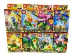 KIT lego Dragon Ball + Shenlong com varios personagens 332 peças