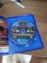 Jogo PS4 God of War R$ 70 / Vendo ou Troco