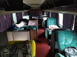 Ônibus 4 eixo Scania