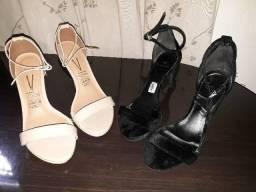Sandálias salto alto - Desapego!!
