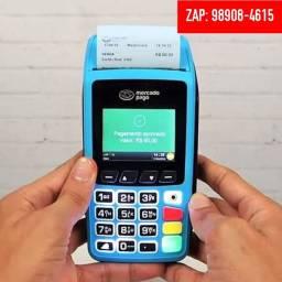 Maquina de Cartão Point Pró Plano de Dados Grátis (chip Claro) e wi-fi imprimi comprovante