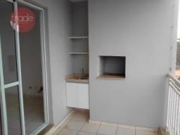 Apartamento com 3 dormitórios para alugar, 78 m² por R$ 2.000,00/mês - Nova Aliança - Ribe