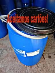 Tambores de 170 litros de plastico