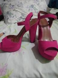 Sandália 37, rosa