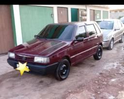 Fiat Uno 96 - GNV 4 portas - 1996