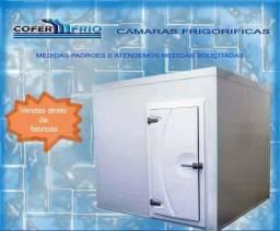 Câmara frigorífica resfriamento de bebidas carnes e derivados.