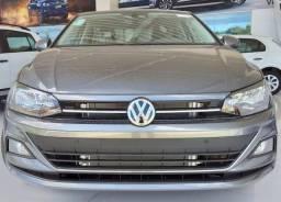Novo Volkswagen Virtus Comfortline 1.0 TSI Turbo - 2019/2020 - Cinza - 2020