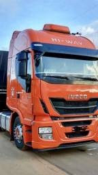 Iveco Hi Way 480 - 6x4 - Laranja - 2014