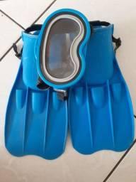 kit de mergulho infantil
