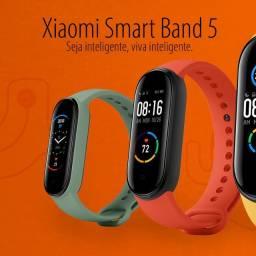 Novo Smartband Xiaomi Mi Band 5 Original Versão 2020