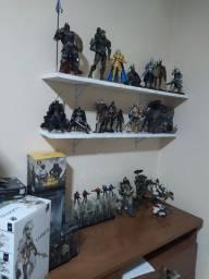 Coleção de action figures