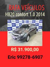 HB20 1.0 comfort 2014 R$ 31.900,00 - Rafa Veiculos Eric -werq0