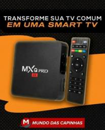Conversor Smart Tv Mxq Pro 4K Android 9.0 4Gb 32G