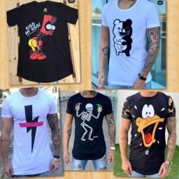Camisetas Long Line ATACADO e VAREJO