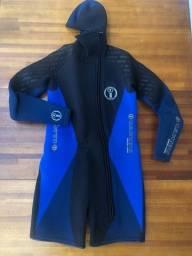 Roupa de mergulho masculina U.S.Divers Aqua-Lung 5 mm 2 peças Tamanho 3