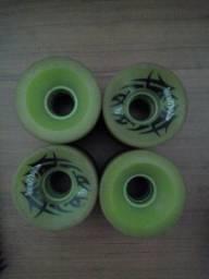 Roda longboard Burnett verde