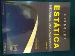 """Vendo livro """" Estática - mecânica para engenharia"""
