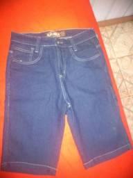 Bermudas jeans tamanho 40