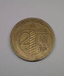 Moeda Brasil 2.000 reais 1938
