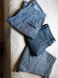 3 calças + 1 camisa