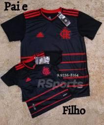Camisa do Flamengo Pai e filho