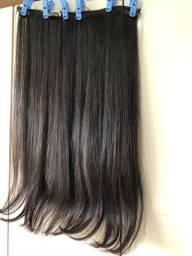 Mega hair com tic tac