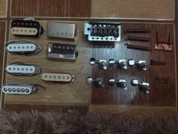 Título do anúncio: Vendo captadores e peças de guitarra