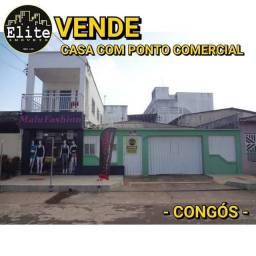 VENDE CASA COM PONTO COMERCIAL - CONGÓS