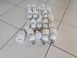 20 Lâmpadas de LED Luz Branca de 9 a 27w, usadas e funcionando.