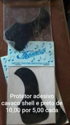 Protetor p/ Cavaco Music preto e shell