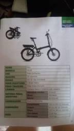 Bicicleta elétrica litiun dobrável sense