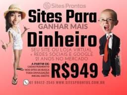 Título do anúncio: Sites / Google / Loja Virtual / Marketing Digital
