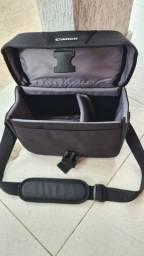 Bolsa bag para câmera e acessorio canon