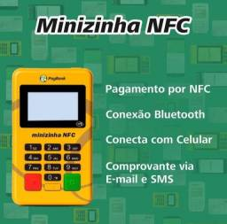 Máquina de cartão Minizinha NFC.