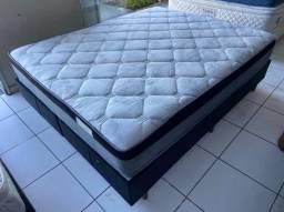 cama box queen size - qualidade - entrego
