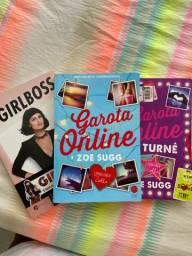Três livros novos pelo valor do anúncio