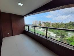 Título do anúncio: 3 Suítes Mais Home Office 114m Vista Mar - Condomínio Clube Parque Tropical