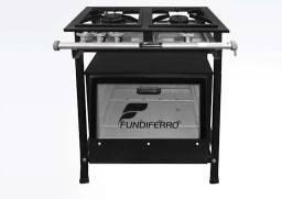 Título do anúncio: Fogão industrial Fundiforte 2 bocas + forno